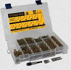 trim and finish assortment kit