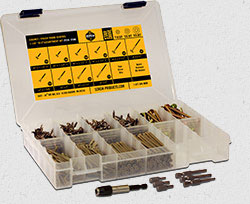 cabinet finish screw accessory kit