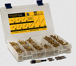 Bronze Star Exterior Star Drive AC257 Compliant Wood Screws