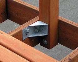 decklok lateral anchor deck bracket