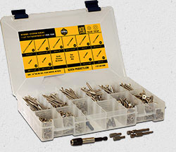 wood screw assortment kit